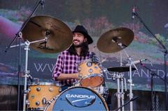 Fabio Rojas performing with Sara Ontaneda @ Festival Comida Criolla 2019.