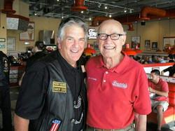 Don Hall and Freddy Simon