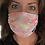 """Thumbnail: """"TIE&DYE PINK"""" adult collection face mask"""