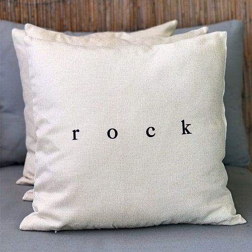 """ROCK""cushion cover"
