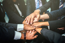 business-team-stack-hands-support-concep