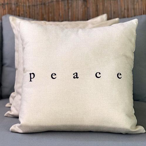 """""""PEACE"""" cushion cover"""