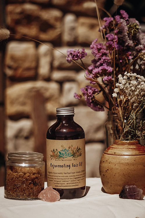 Rejuvenating Hair Oil - Herbal