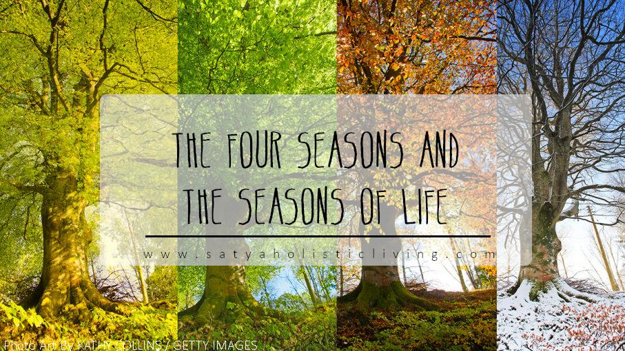 The four seasons spring summer autumn winter