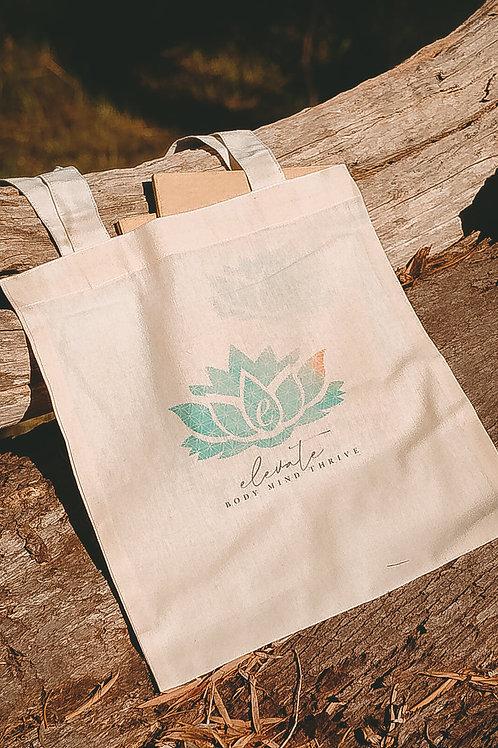 Handmade 'Elevate' Jute Bag