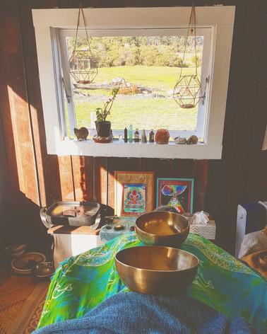 Integrative Sound Massage Treatment Satya Holistic Living, Yallingup, Western Australia