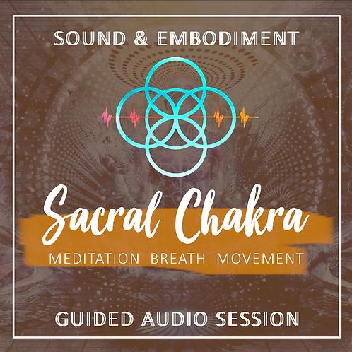 inTune Sound & Embodiment Session - Sacral Chakra