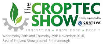 We are at Croptec Show