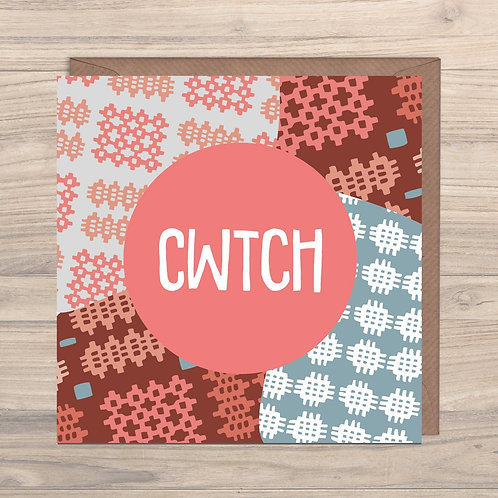 Cwtch Greeting Card