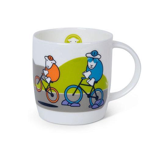 CYCLING HERDY MUG