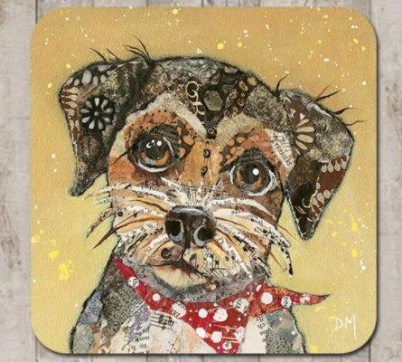 Coaster -Border Terrier