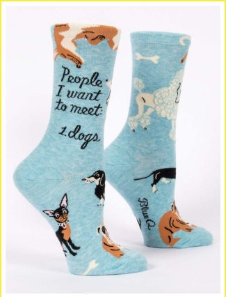 Ladies Socks - Dog Lover