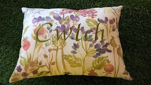 Cwtch Cushion Autumn Floral