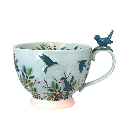 Secret Garden Bird Cup