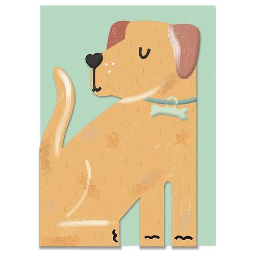 Card -Labrador