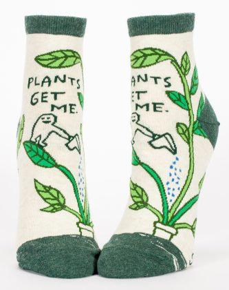 Ladies Socks - Plants Get Me