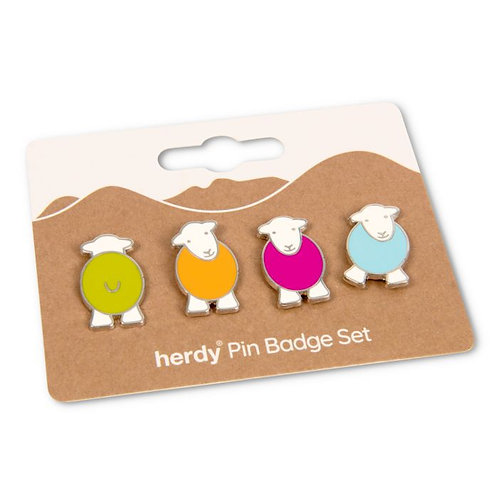 HERDY PIN BADGES
