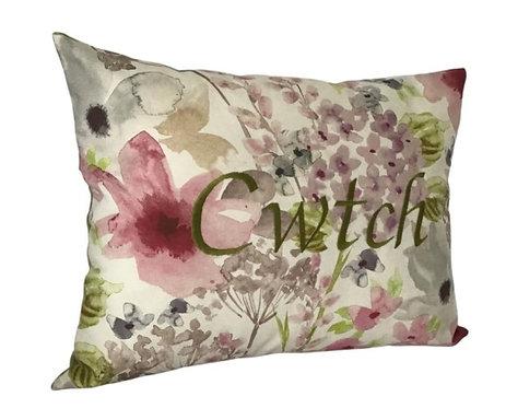 Cwtch Cushion Pastel Floral