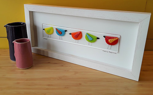 Fused Glass Picture  - Chicks