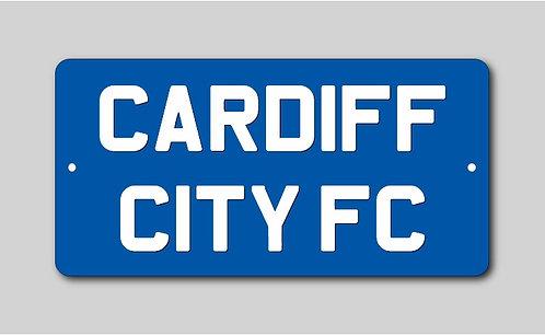 Cardiff City Sign