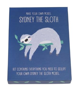Sydney the Sloth Model Kit