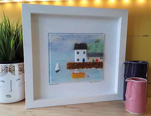 Fused Glass Picture  - Harbourside