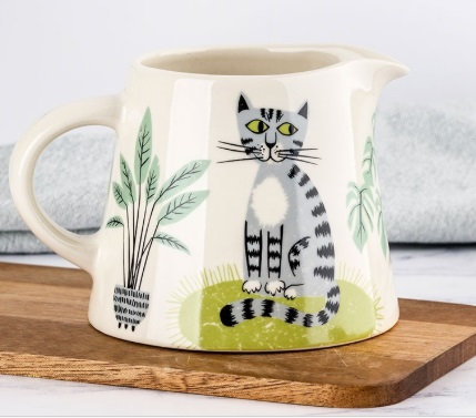 Handmade Ceramic Cat Milk Jug