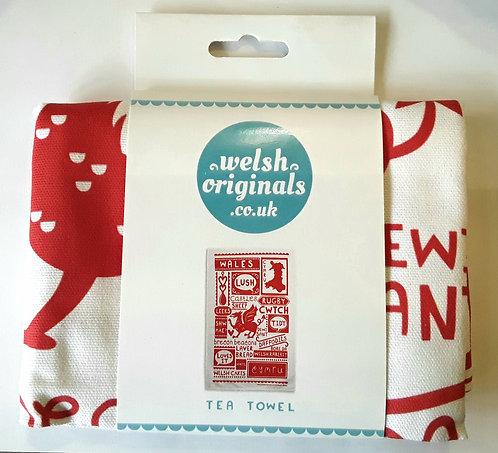 Wales - Tea towel