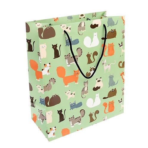 Nine Lives Large Giftbag