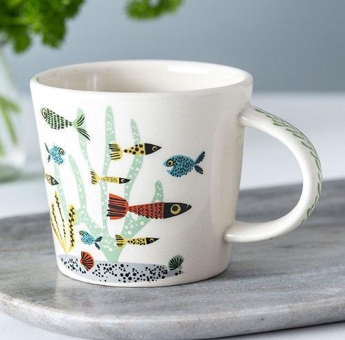 Handmade Ceramic Fish Mug