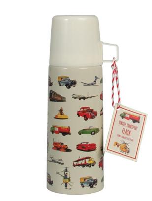 Vintage Transport Drinking Flask