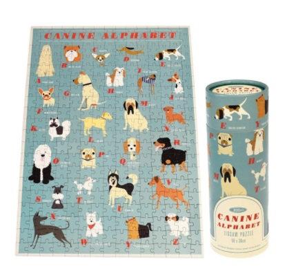 Canine Alphabet Puzzle