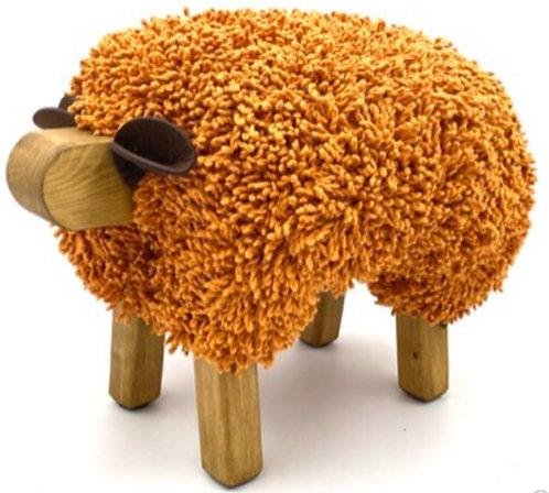 Autumn Maple / Oak Sheep Footstool