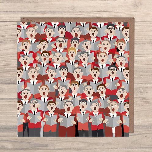 Male Voice Choir Greeting Card