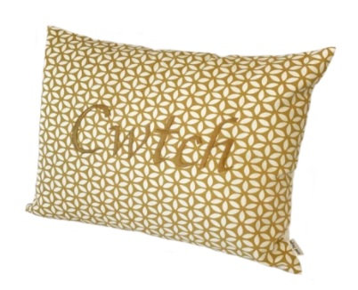 Mustard Cwtch Cushion
