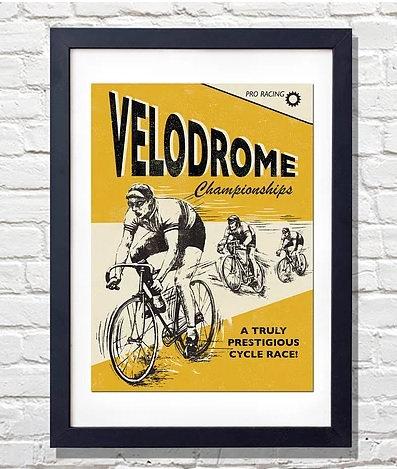 Velodrome Framed Print