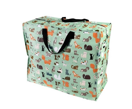 Nine Lives Jumbo Storage Bag