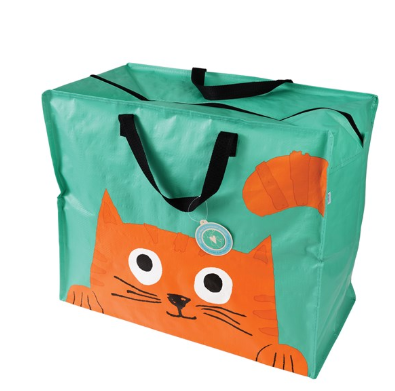Chester The Cat Storage Bag