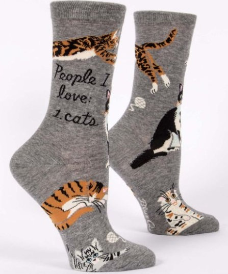 Ladies Socks - Cat Lover