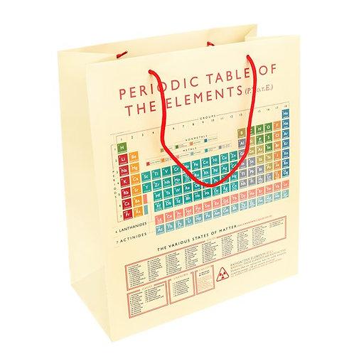 Periodic Table Large Giftbag