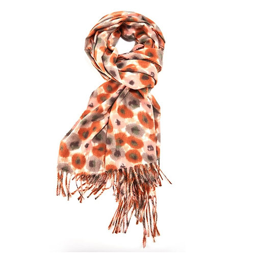 Poppy Scarf - Orange