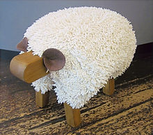 EWEMOO SHEEP FOOTSTOOLS