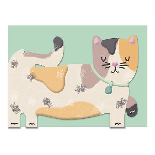 Card - Tabby Cat