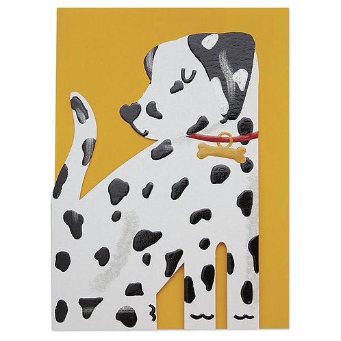 Card - Dalmatian