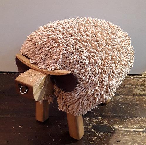 Bull Footstool
