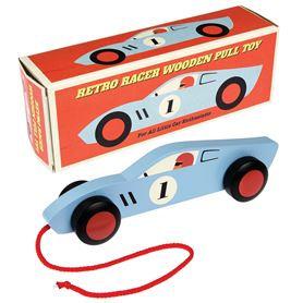 Retro Car Wooden Toy