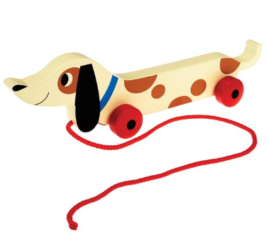 Charlie the Sausage Dog Wooden Toy