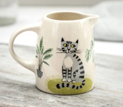 Handmade Ceramic Cat Small Jug