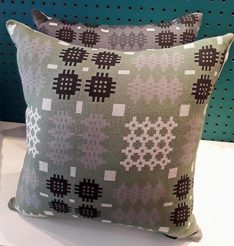 GreenWelsh Blanket Cushion