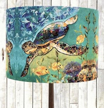 Lamp base Shade - Coral Patrol